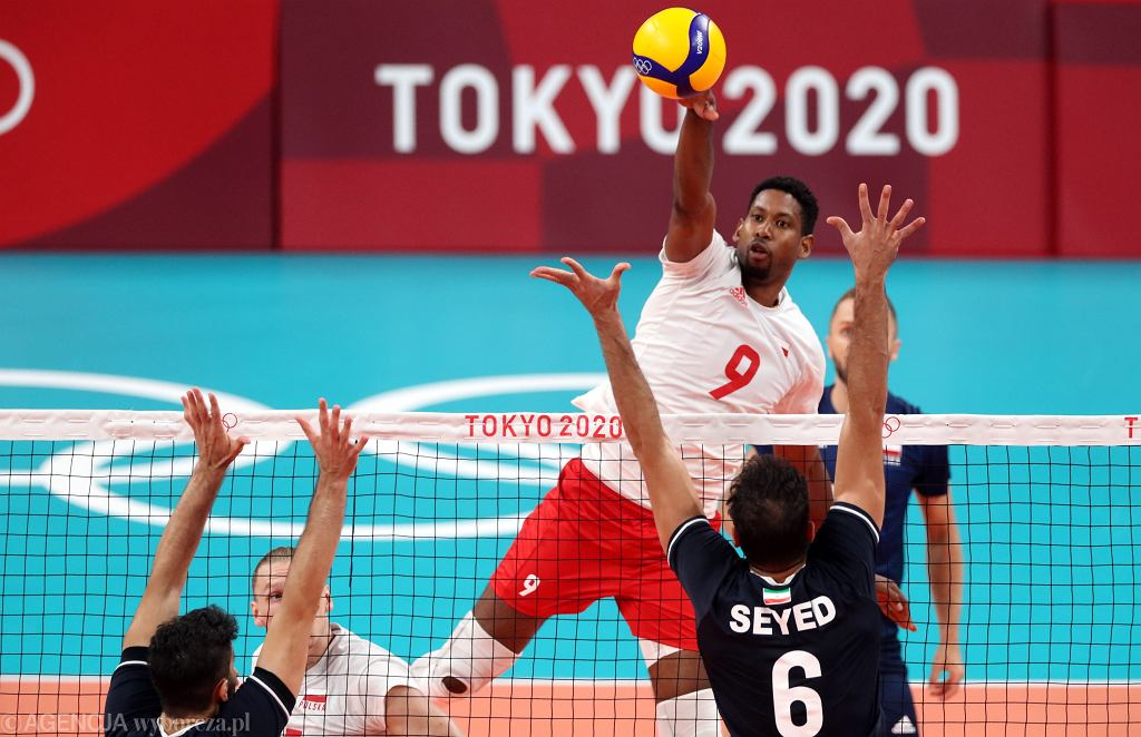 Mecz siatkówki Polska - Iran
