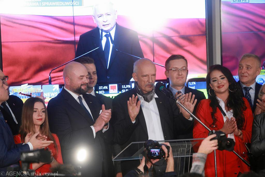 Wyniki wyborów parlamentarnych 2019. Konfederacja - kto w Sejmie? (zdjęcie ilustracyjne)