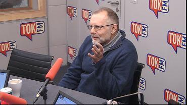 Prof. Szymon Malinowski w studiu TOK FM.