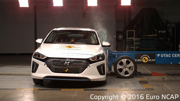 Hyundai Ioniq Euro NCAP