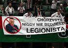 Kibice Legii podczas Superpucharu protestowali przeciwko nowemu trenerowi