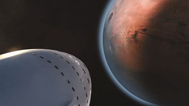 SpaceX Mars