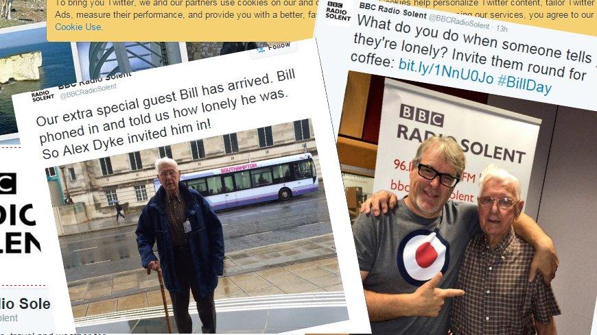 95-letni Bill był gościem radia BBC Solent
