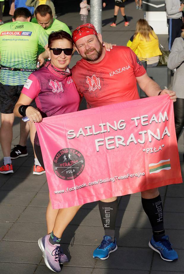 Zdjęcie numer 85 w galerii - Ponad 1200 biegaczy na starcie 37. Toruń Maraton, wygrał Łukasz Oskierko [ZDJĘCIA]