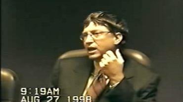 Przesłuchanie Billa Gatesa