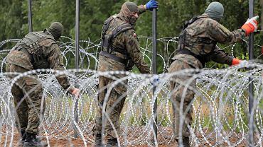 SG: Od maja granicę polsko-białoruską przekroczyło 500 dzieci