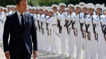 Emmanuel Macron w Bułgarii