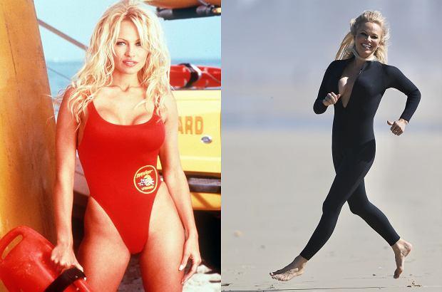 Pamela Anderson odegrała scenę ze 'Słonecznego patrolu'