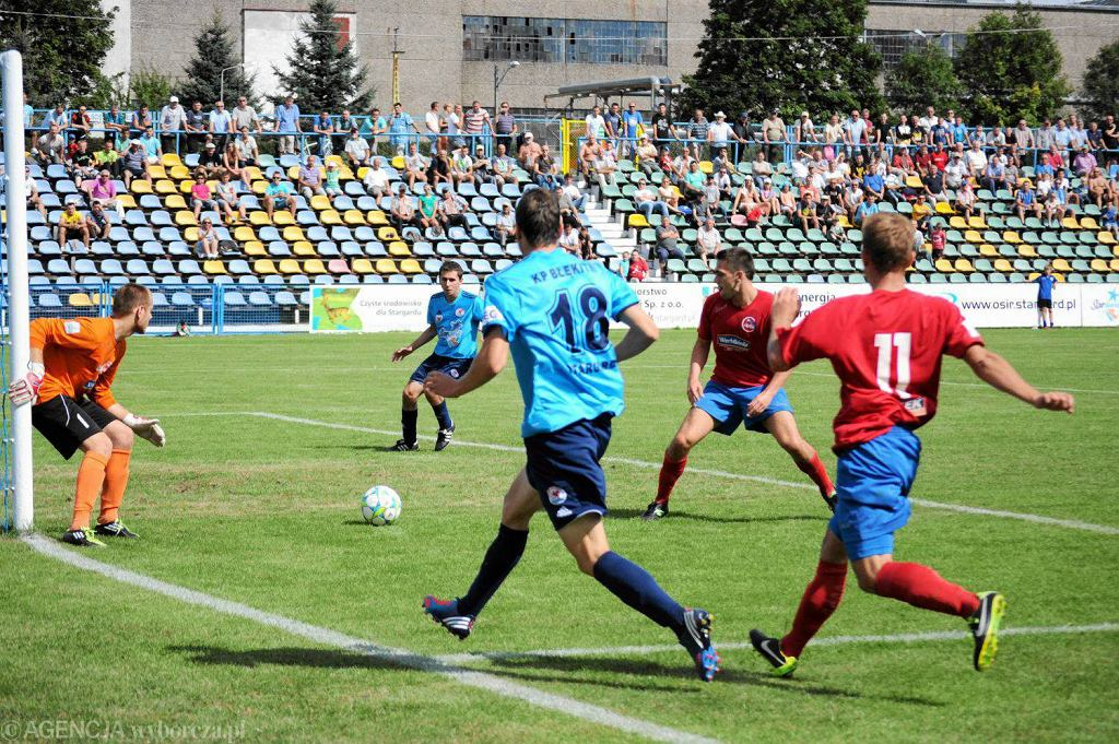 Błękitni szykują się do występów w zreformowanej II lidze