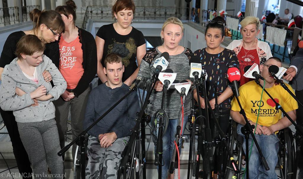 Protest niepełnosprawnych. Czy Sejm spełni część postulatów?