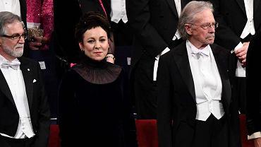 Olga Tokarczuk odebrała literackiego Nobla w przepięknej kreacji Gosi Baczyńskiej. Klasa!