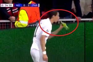 Angel Di Maria nie wytrzymał. Piłkarz rozwścieczył fanów Manchesteru. UEFA przeprowadzi dochodzenie [WIDEO]