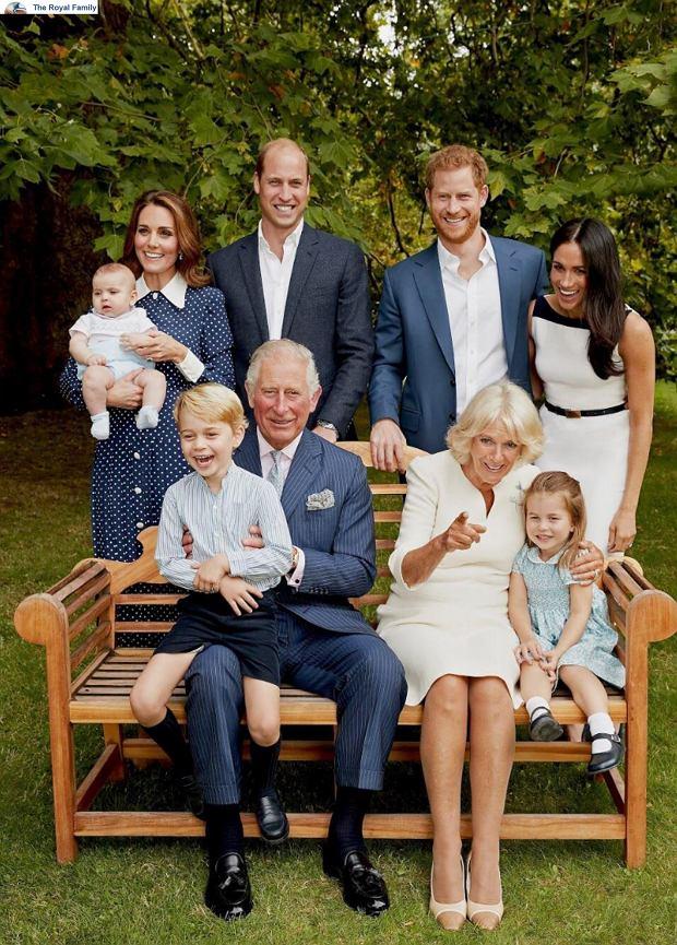 Książę Karol z rodziną