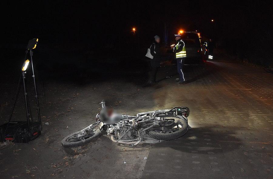 Śmiertelny wypadek w Semlinie. 32-letni motorowerzysta zderzył się z koniem.
