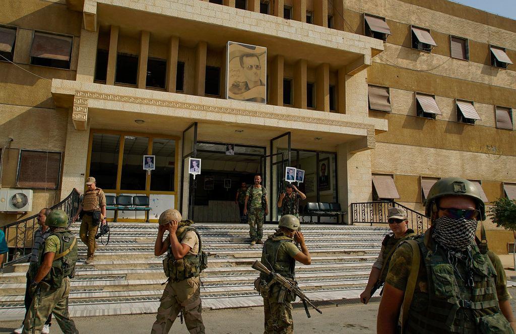 Rosyjscy żołnierze w Dajr az-Zaur
