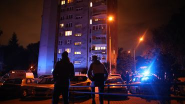 Środowa ewakuacja na osiedlu Piastów w Krakowie