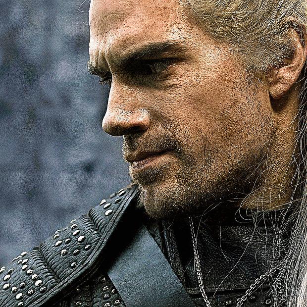 Henry Cavill jako Geralt w serialu 'Wiedźmin'
