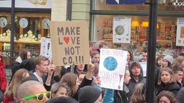 Młodzieżowy Strajk Klimatyczny w Toruniu