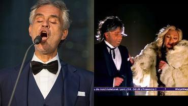 Andrea Bocelli, Czadoman
