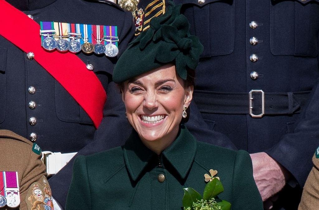 Księżna Kate na paradzie z okazji Dnia świętego Patryka
