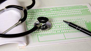 Zwolnienia lekarskie