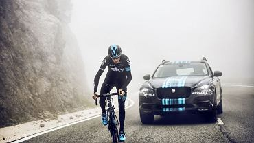 Jaguar F-Pace Team Sky