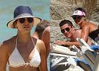 Anna i Robert Lewandowscy na wakacjach w Grecji. Ona w kusym bikini, on bez koszulki! Ależ są seksowni