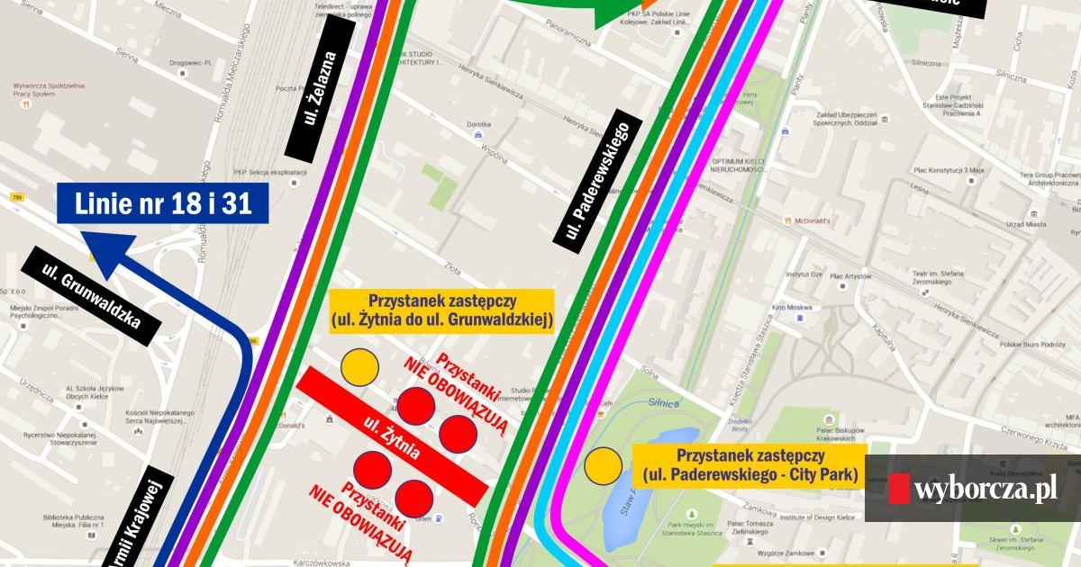 Budowlancy Wchodza Na Zytnia Ale Prosza O Nowy Termin Mapa Objazdow
