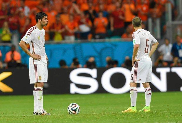 Hiszpania - Chile. Gra o przetrwanie