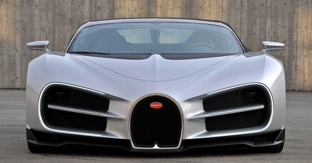 Pierwsze szkice Bugatti Chirona
