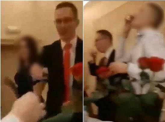 Wiceprezydent Chełma pił alkohol z uczniami na studniówce.
