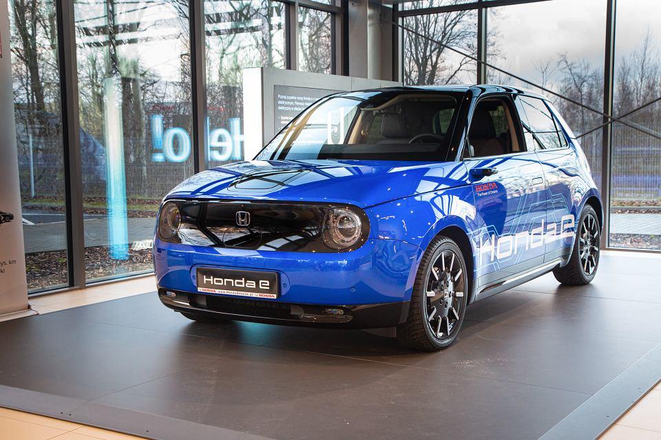 Pierwsza elektryczna Honda w Gdańsku