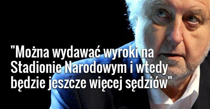 Andrzej Rzepliński , prezes Trybunału Konstytucyjnego
