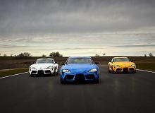 Toyota Supra już po faceliftingu. Ma 382 KM - tyle co BMW Z4 M40i