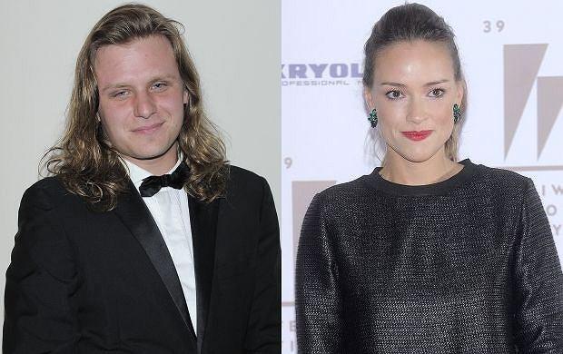 Piotr Woźniak-Starak i Alicja Bachleda-Curuś
