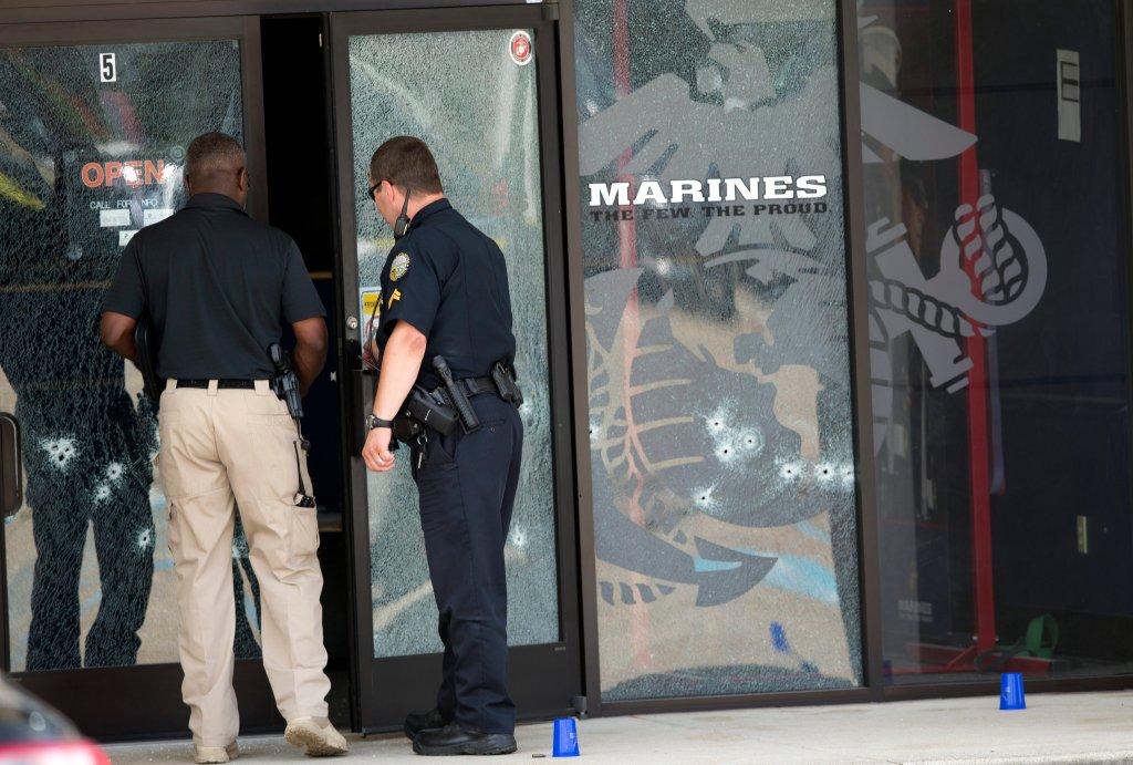 Strzelanina w Chattanooga w stanie Tennessee