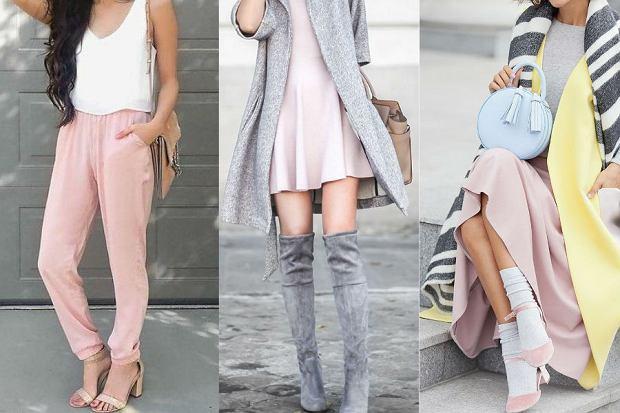 Pastelowe kolory - jak nosić je wiosną