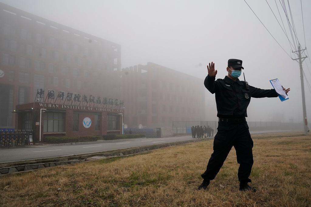 Instytut Wirusologii w Wuhan, Chiny, 3 lutego 2021