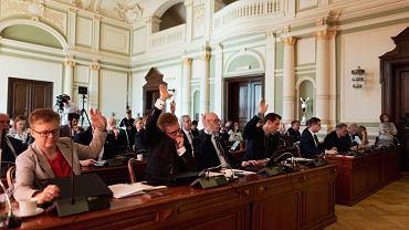 Sesja rady miasta Gdańska w kadencji 2018-2023. Radni miasta Gdańska