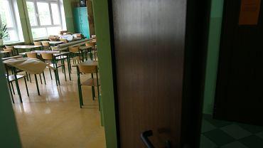 Klasa lekcyjna (zdjęcie ilustracyjne)