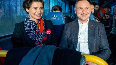Mecenas Jolanta Turczynowicz-Kieryłło i prezydent Andrzej Duda, 20.02.2020