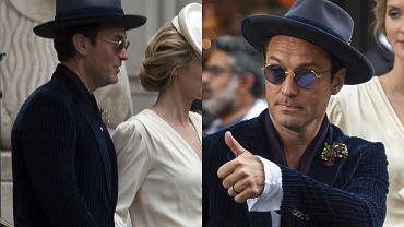 Jude Law z żoną