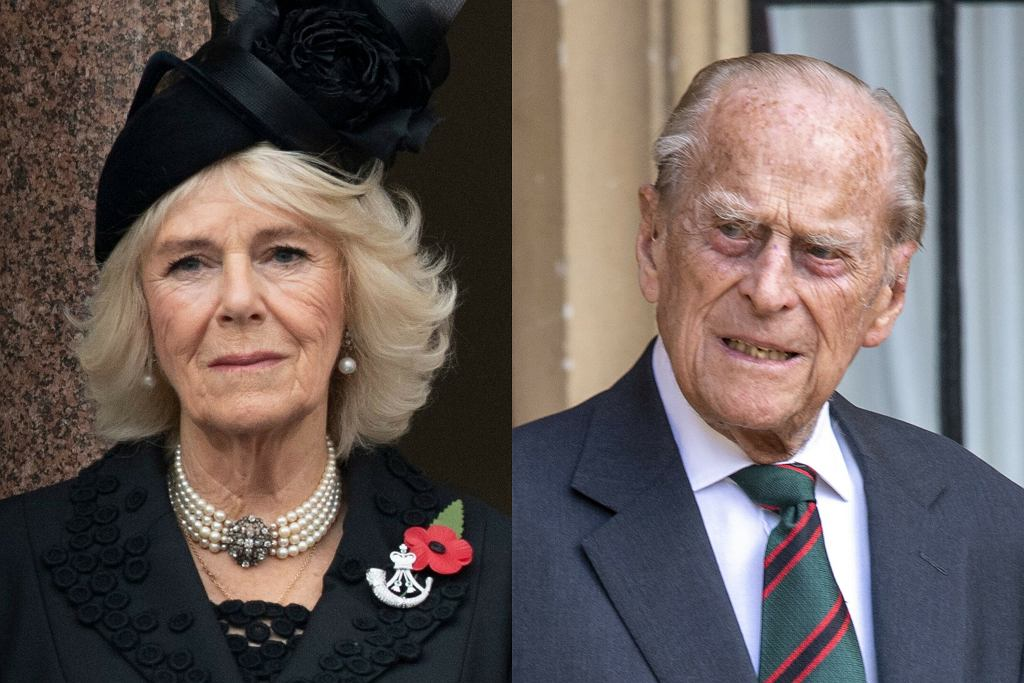 Księżna Camilla, książę Filip