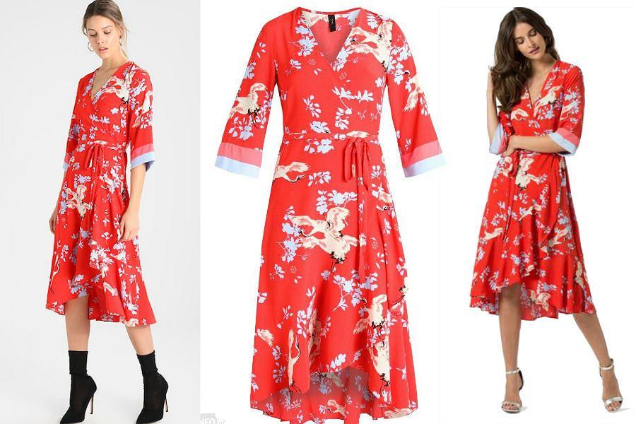 Sukienka odpowiednia dla wielu typów sylwetek