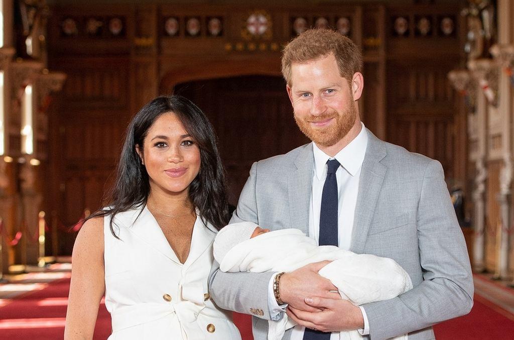 Księżna Meghan Markle i książę Harry pokazali syna