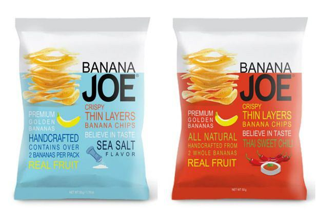 Chipsy z banana - Banana Joe - złocista nowość od Purella Food!