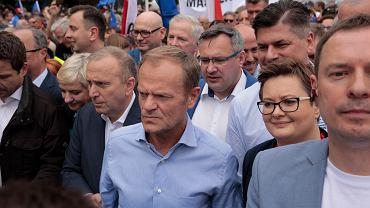 Marsz Polska w Europie. Warszawa, 18 maja 2019
