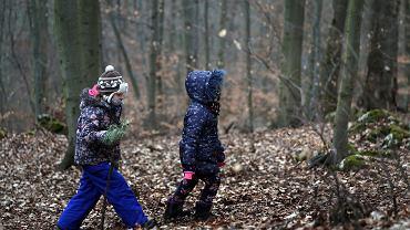 21.03.2021, spacer ekologiczny w rezerwacie Sokole Góry w gminie Olsztyn koło Częstochowy