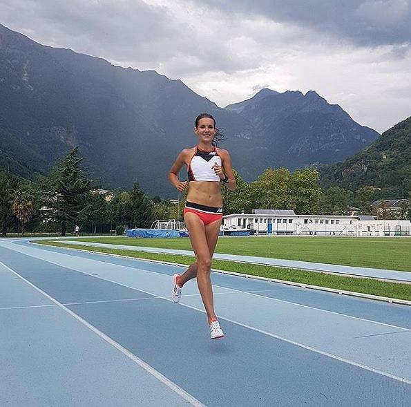 Matylda Kowal biegaczka na dystansie 3000 m z przeszkodami