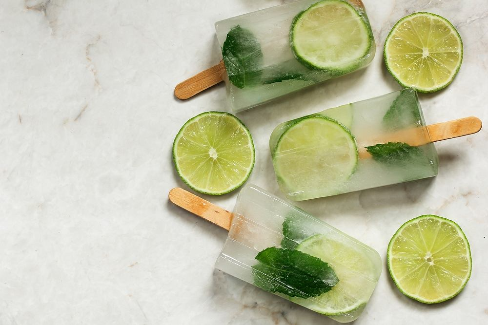Mojito można zamrozić i serwować również w postaci lodów